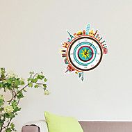 3D The City Wall Stickers Wall Decals