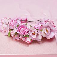 Couronnes Casque Mariage/Occasion spéciale Tulle/Tissu/Plastique Femme Mariage/Occasion spéciale 1 Pièce