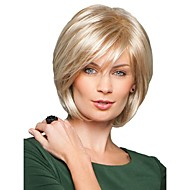 Beautyful High Quality Capless Short Straight Mono Top Human Hair Wigs Eight Colors to Choose