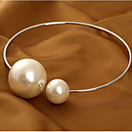 European And American Hot Popular Hot Selling Simple Pearl Collar Necklace