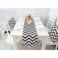 1 100% Coton Rectangulaire Sets de table / Chemins de table