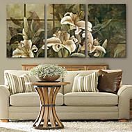 e-Home® venytetty kankaalle taidetta lilja koriste maalaus sarja 3