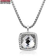 Halsband Kristall/Cubic Zirconia DamJubileum/Bröllop/Förlovning/Födelsedag/Gåva/Party/Dagligen/Speciellt Tillfälle/Casual/Kontor och
