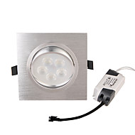 5W LED Recessed Lights 5 High Power LED 450 lm Warm White Decorative AC 85-265 V 2 pcs