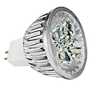 4W GU5.3(MR16) LED Spotlight MR16 4 High Power LED 350 lm Warm White Cool White Natural White Dimmable DC 12 AC 12 V