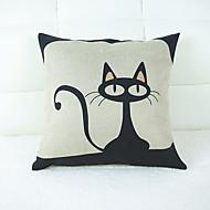 kreativ katt hjemme tak putevar sett med sofa pute for lener seg på