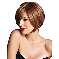 High Quality Capless Short Bob Mono Top Human Hair Wigs 8 Colors to Choose