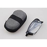 [Free Lenses] Foldable Full-Rim Rectangle Reading Glasses with Case