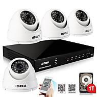 ZOSI® 800TVL 960H D1 HDMI 1TB HDD 4CH H.264 DVR Kits 4x Outdoor Day Night IR CCTV Camera Security System