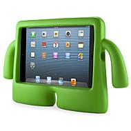 Pentru Rezistent la apă / Cu Stand / Siguranță Copii Maska Carcasă Spate Maska Culoare solida Greu EVA Apple iPad Mini 3/2/1