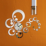 Modern/Zeitgenössisch Familie Wanduhr,Kreisförmig Anderen 16.5*16.5*0.2 Drinnen Uhr