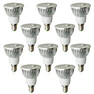6W E14 LED bodovky 4 High Power LED 530-580 lm Teplá bílá AC 100-240 V 10 ks