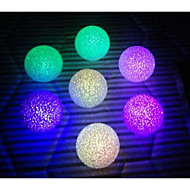 10PCS LED Changing Color Crystal Ball Night Light Party Supplies(Random Color)