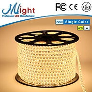 Mlight 10 Meter 72 leds/m 5050 SMD Warm White/White Waterproof/Cuttable 6 W Flexible LED Light Strips AC110-220 V