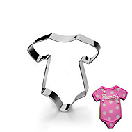 Baby's Clothing Jumper Shape Cookie Cutters  Fruit Cut Molds Stainless Steel