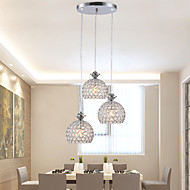 נברשות/מנורות תלויות קריסטל/LED/סגנון קטן מודרני / חדיש/מסורתי/ קלאסי/סגנון חלוד/בקתה/Tiffany/Drum/כדוריחדר שינה/חדר אוכל/חדר עבודה /