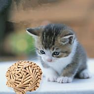 Brinquedo Para Gato Brinquedos para Animais Bola Durável Tecido Bambu