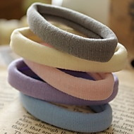 Good To Use Elastic Durable Multicolor Seamless Rubber Hair Bands
