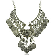 Hot Sell Gypsy Ethnic Necklaces Retro Metal Carving