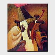 Ölgemälde ein Panel modernen abstrakten Menschen handbemalte Leinwand fertig zum Aufhängen