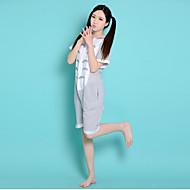 Gray Totoro Cotton Adult Unisex Summer Style Kigurumi Pajamas Animal Onesie Sleepwear