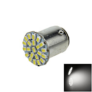1X White 1157 BAY15D 22 1206 SMD LED Brake Turn Signal  Light Bulb Lamp  DC 12V E015