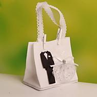 Geschenktaschen ( Weiß , Vließstoff ) - Nicht personalisiert - Hochzeit/Jubliläum/Brautparty