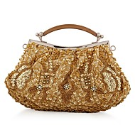 L.WEST®  Women's  Event/Party / Wedding / Evening Bag Beaded Sequined Delicate Handbag
