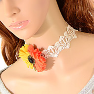 Simple Sunflower Necklace