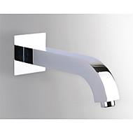 Solid Brass Replacement Filler Bath tub Shower Mixer Faucet Spout Chrome Finish