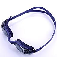 YOBO Óculos de Natação Unisexo Anti-Nevoeiro / Á Prova-de-Água / Tamanho Ajustável / Proteção UV / Correira Anti-Escorregar Gel Silica PC