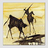 peintures à l'huile de style abstrait, matériel de toile, peinture seule taille: 60 * 60cm.