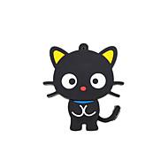 desenhos animados novo gato bonito usb 2.0 memória pen drive flash stick 2gb preto