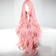 Vrouw Synthetische pruiken Zonder kap Golvend Roze Kostuumpruik Halloween Pruik Carnaval Pruik Kostuumpruiken