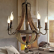 Ecolight® Chandelier/5 lights/Vintage/Retro/Country Living/Dining/Kitchen/Study/Office/Entry/Hallway/Metal