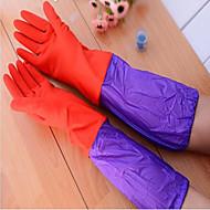 Long Dishwashing Gloves Rubber Washing Household Gloves