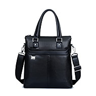 Men PU Formal / Office & Career Tote / Instrument Bag & Case Brown / Black