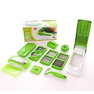 1枚 カッター&スライサー For 野菜のための シリコーン 多機能 / クリエイティブキッチンガジェット / アイデアジュェリー
