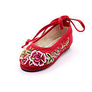 Women's Flats Spring / Summer / Fall / Winter Comfort / Mary Jane / Round Toe Fabric Outdoor / Dress / Casual / Party & Evening Flat Heel