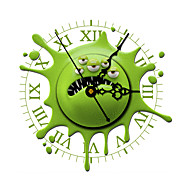 PAG®Morden 3D Effect Green Funny Wall Clock 11.8*11.8 inch / 30*30 cm