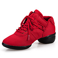Non Customizable Women's Dance Shoes Synthetic Synthetic Dance Sneakers / Swing Shoes Sneakers Flat HeelPractice / Beginner /