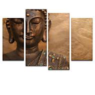 moderna di arte della pittura a olio star® visivo astratto parete buddha su tela pronti da appendere