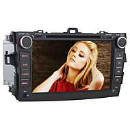 For Toyota Corolla Car DVD Player Quad-Core Android4.4 2 Din 8 inch 1024 x 600Built-in Bluetooth/GPS/RDS//WiFi/Subwoofer