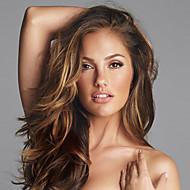 """10 """"-26"""" capelli umani parrucche del merletto 100% vergine indiano dei capelli ondulati parrucca del merletto per le donne"""