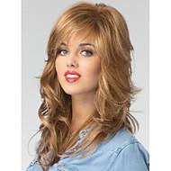 laadukas capless pitkä aaltoileva mono top neitsyt Remy peruukit 7 värivaihtoehtoa