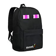 24l minecraft Enderman mochila bolso negro nuevo juego mochila bolsa de la escuela de nylon mochila bolso mundo