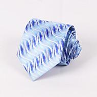 Pale Blue Moire Tie #PT062