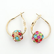 XIXI Women's The Newest Fashion Casual Gold Plated/Rhinestone Earrings