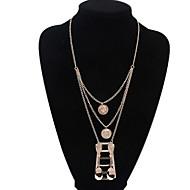 Collier Anniversaire/Cadeau/Sorée/Quotidien/Casual/Bureau & Carrière/Outdoor Imitation de perle Alliage Femme