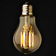3 τμχ ONDENN E26/E27 6 COB 600 LM Θερμό Λευκό A60(A19) edison Πεπαλαιωμένο LED Λάμπες Σφαίρα AC 220-240 / AC 110-130 V